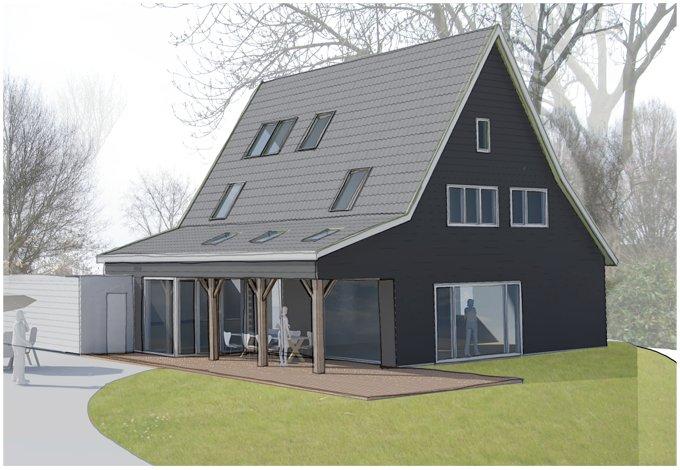 Verbouwing woning met veranda abjz architectenbureau jules zwijsen - Te vergroten zijn huis met een veranda ...