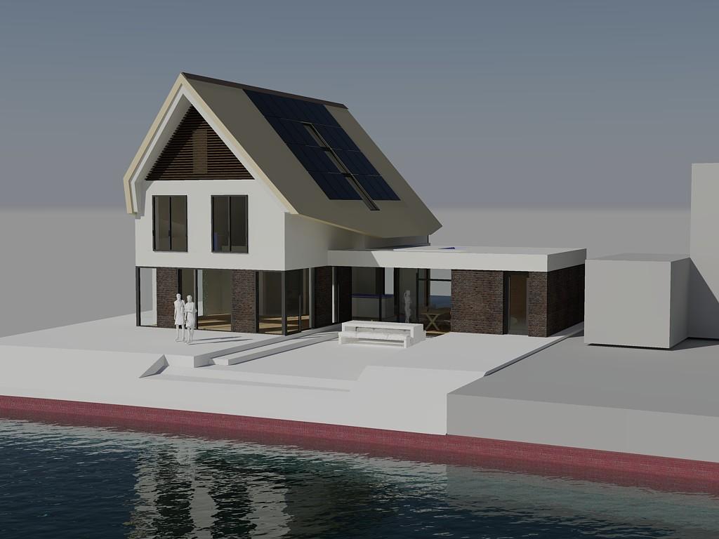 Blaricummermeent te blaricum abjz architectenbureau jules zwijsen - Zie in het moderne huis ...